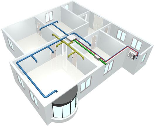 Установка канального кондиционера для квартиры установка авто кондиционеров своими руками