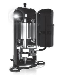 Двойной ротационный инверторный компрессор