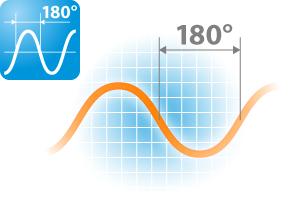 Технология 180 ° волнового инверторного преобразования