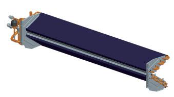 V-образный дизайн испарителя канального кондиционера
