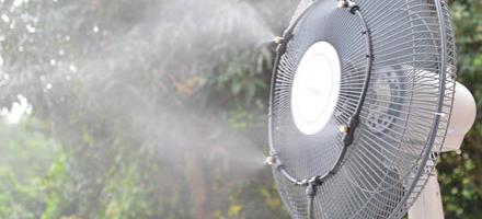 система тумана вентилятор